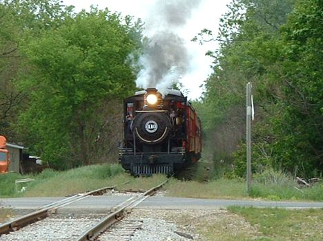 Little River Railroad 110 at Coldwater, MI  2005  [Jack Watts]